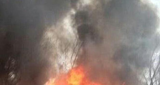Riyad'da helikopter düştü, ABD'li eğitmen öldü