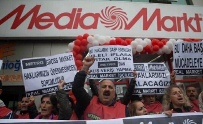 Media Markt işçilerinin hak arayışı sürüyor