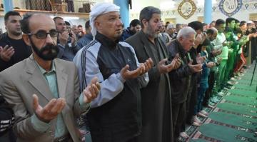 Kerkük'te Ozan Arif için cenaze namazı