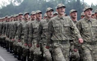 Yeni Askerlik Sistemi Cumhurbaşkanı'nın önünde