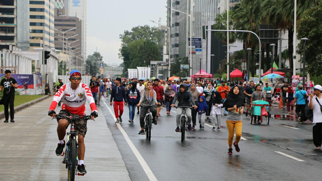 Endonezya'da trafik sorununa çözüm