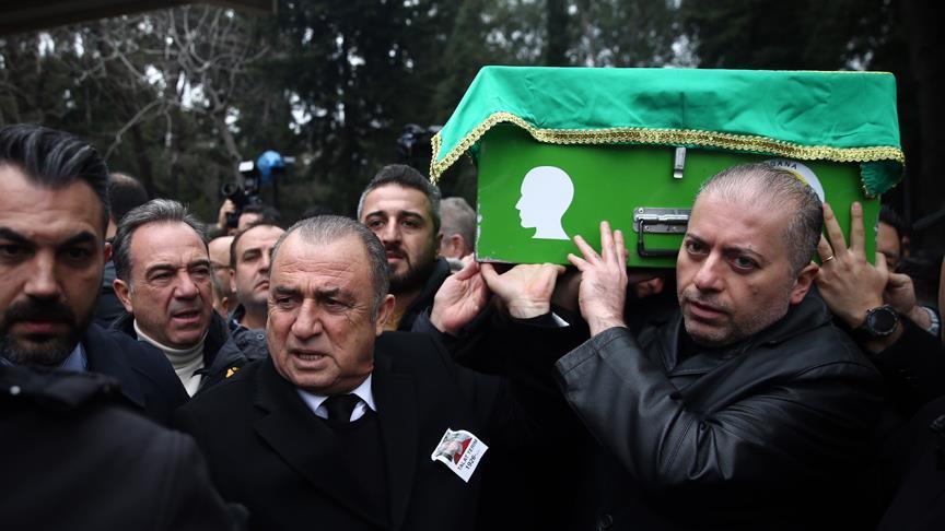 Fatih Terim'in babasına son veda