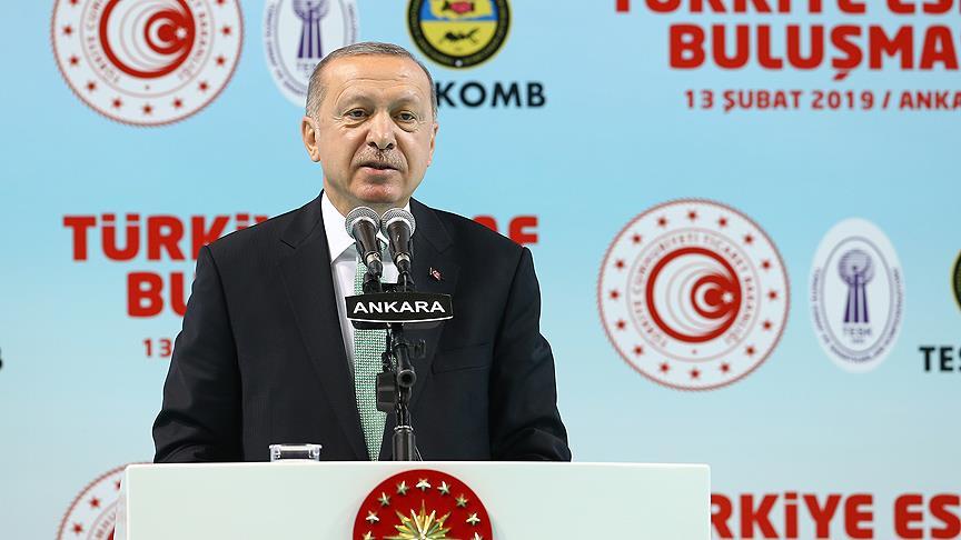 """Cumhurbaşkanı Erdoğan: """"Tetikçilere Osmanlı tokadı vuracağız"""""""
