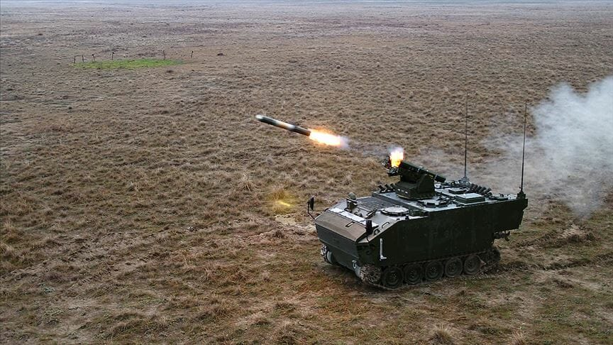 İşte Türkiye'nin Tank Avcısı 'Kaplan'