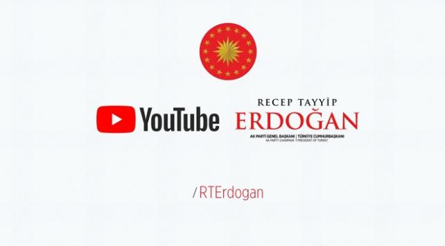 Cumhurbaşkanı Erdoğan'ın Youtube kanalı açıldı