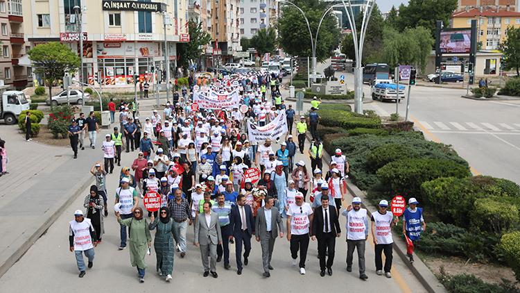 'Emek ve Adalet' için dokuz gündür yürüyorlar