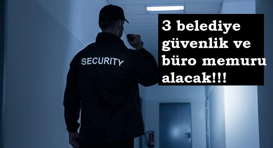 3 belediyeye güvenlik alınacak | Başvuru şartları nelerdir?