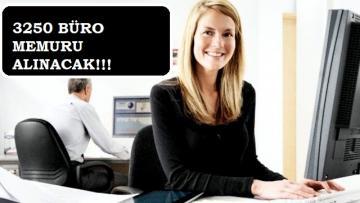 Lise mezunu büro memuru alınacak | Başvuru şartları nelerdir?
