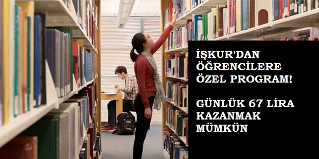 İŞKUR'dan üniversitelere 67 lira!