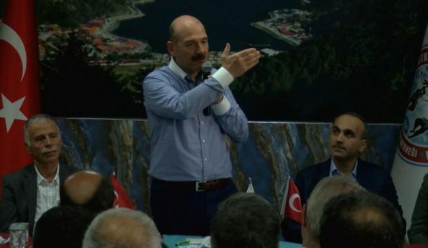 Süleyman Soylu'dan sosyal medya tepkisi