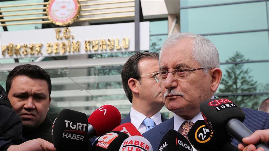 """YSK Başkanı Güven: """"HSK'ya başvurduk"""""""