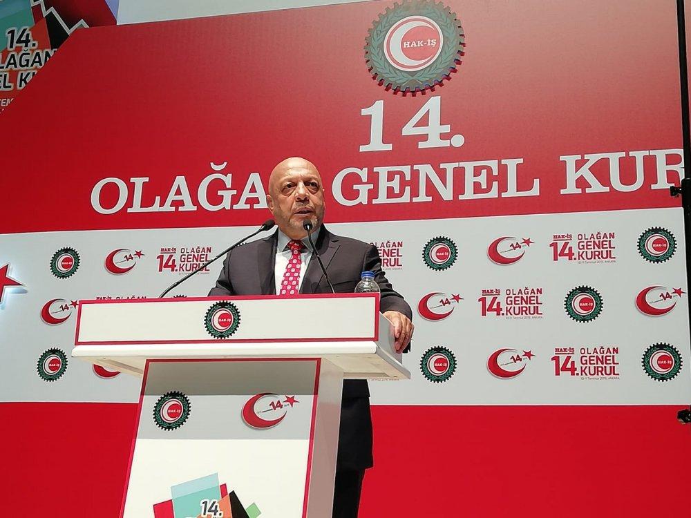 Hak-İş'ten kritik Taşeron ve EYT açıklaması