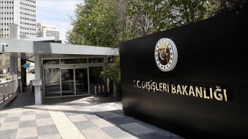 Türkiye İsrail'e tepki gösterdi