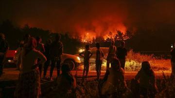 İzmir'deki yangından umut veren haber