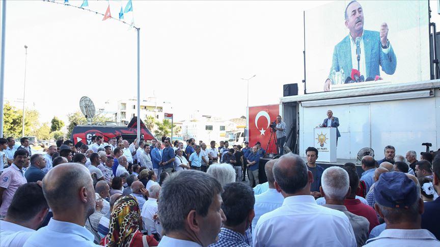 Türkiye Fırat'ın doğusu için kararlı