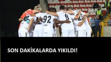 Beşiktaş'ta bir acı mağlubiyet daha