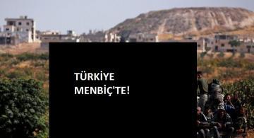 Türkiye Menbiç'e girdi!