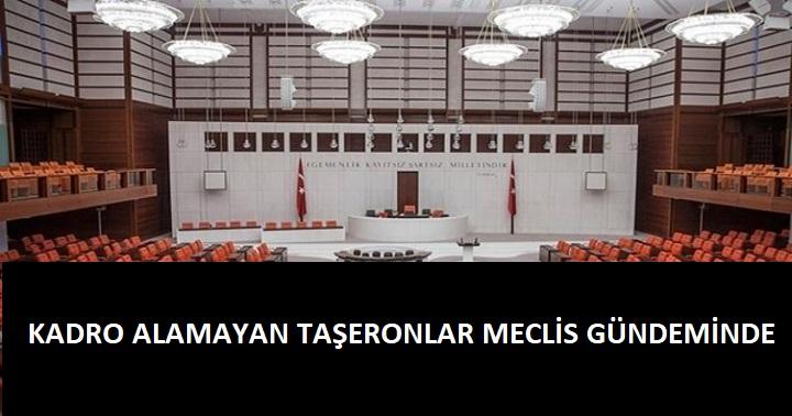 Taşeronların meselesi meclis kürsüsünde!