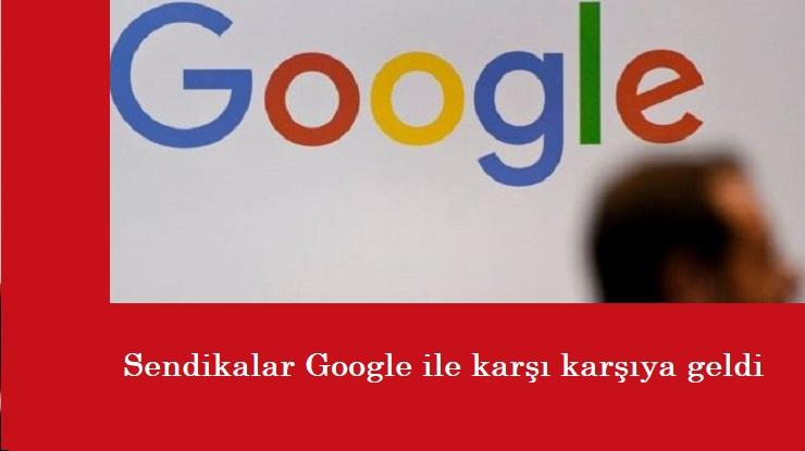 Sendikalar Google'a karşı: İşten çıkarmalara tepki