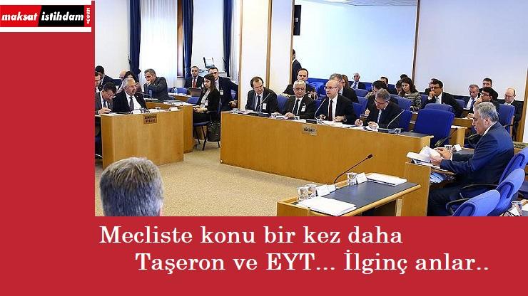 Taşeron ve EYT konusunda mecliste 'cevapsız soru'