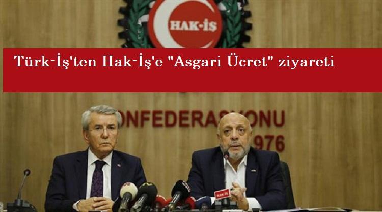"""Hak-İş Genel Başkanı Mahmut Arslan: """"Asgari ücret konusunda iş birliği gerekiyor"""""""