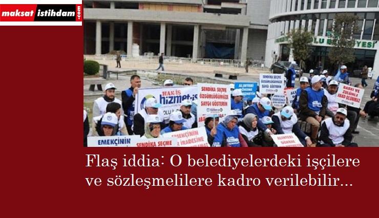 İşçi kıyımı mağdurları kadro alacak iddiası