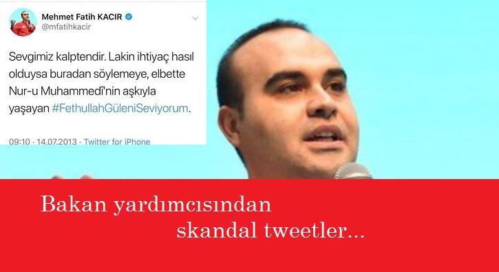 Bakan Yardımcısı'ndan skandal tweet