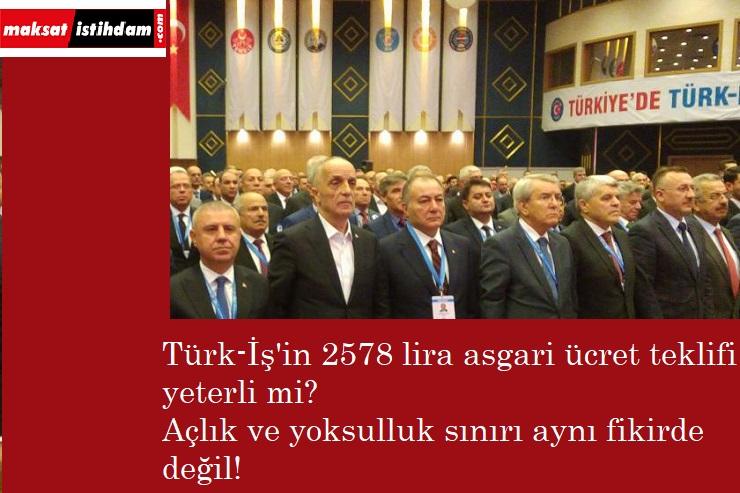 Türk-İş'in asgari ücret teklifi yetecek mi? İşte önemli veriler