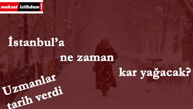 İstanbul'a ne zaman kar yağacak? Tarih verildi