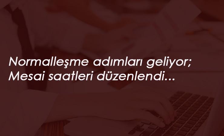 İstanbul'da mesai saatleri belirlendi: Bayramdan sonra başlıyor