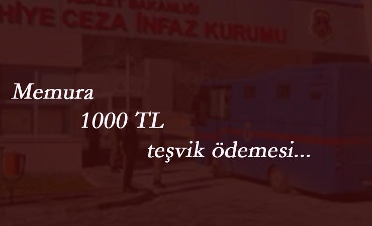 Memurlara 1000 lira ek ödeme: O kurumdakiler faydalanacak