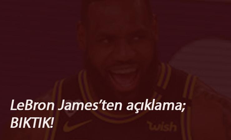 """Lebron James'ten ırkçılık ile alakalı açıklama: """"Bıktık"""""""