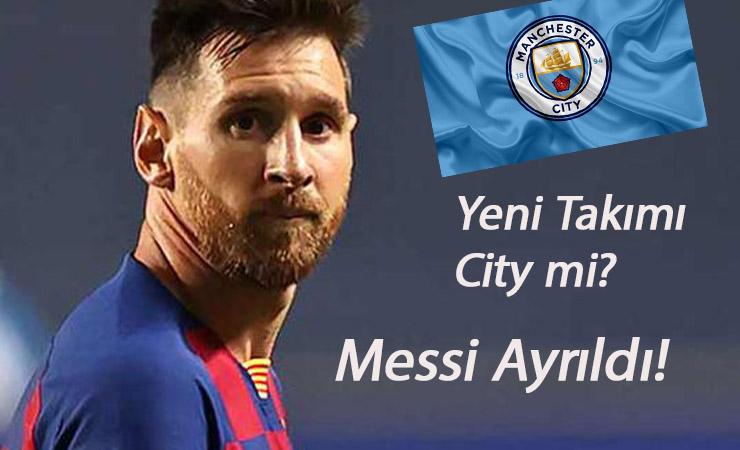 Bir dönem kapandı: Lionel Messi Barcelona'dan ayrılıyor! Yeni takımı neresi olacak?