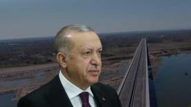"""Cumhurbaşkanı Erdoğan'dan talimat: """"Köprü tamamlansın"""""""