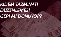 Kıdem Tazminatı'nda '1 Ekim' iddiası