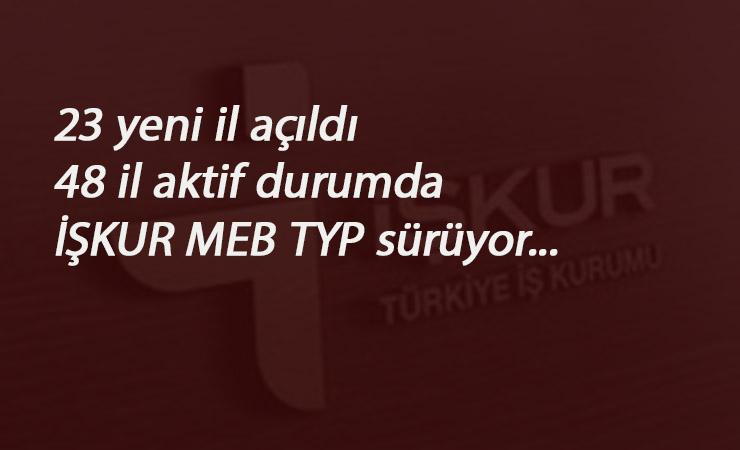 Okullara TYP alımı ilanları sürüyor: 23 yeni il açıldı! 48 il açık durumda