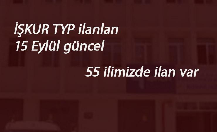 15 Eylül MEB TYP ilanları: 7 il daha açıldı-Toplam 55 il!