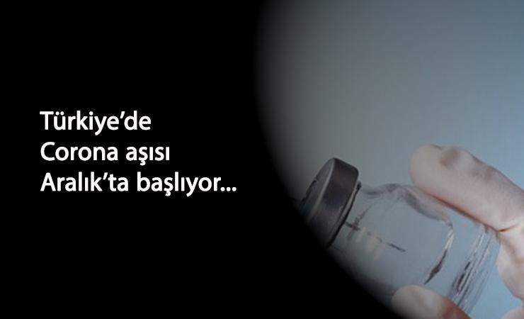 Aralık'ta 5 milyon kişiye aşı yapılacak: Fahrettin Koca açıkladı