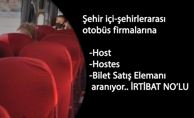 Ulaşım sektörüne host/hostes ve bilet satış görevlisi aranıyor: Güncel seyahat personel alımları