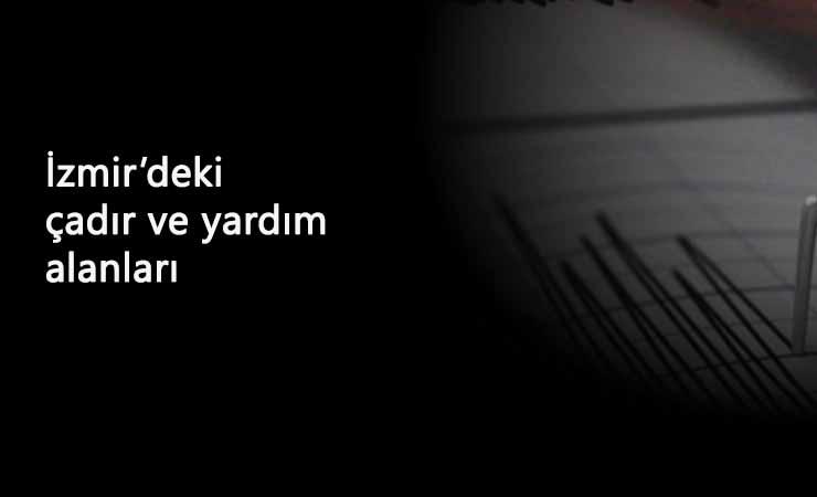 Tunç Soyer'den İzmir'deki çadır ve yardım alanları ile ilgili paylaşım