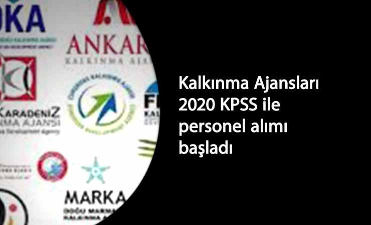 Kalkınma Ajansları KPSS ile personel arıyor