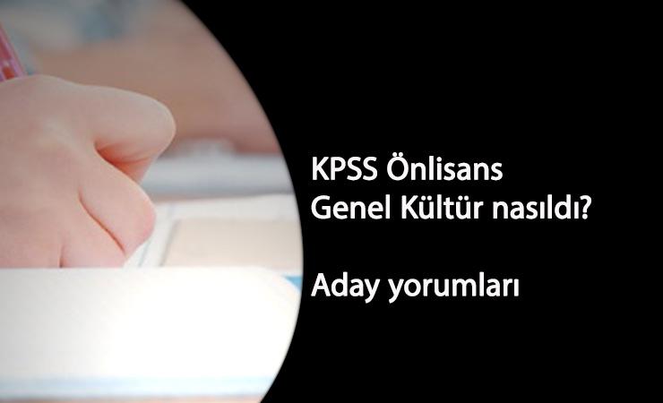 2020 KPSS Genel Kültür soruları: Genel Kültür zor muydu? Aday yorumları