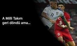 Millilerden harika geri dönüş: Türkiye 2-2 Sırbistan