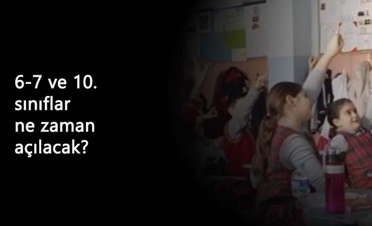 23 Kasım'da kalan sınıflar açılacak mı? Yüz yüze eğitim ne zaman başlayacak?