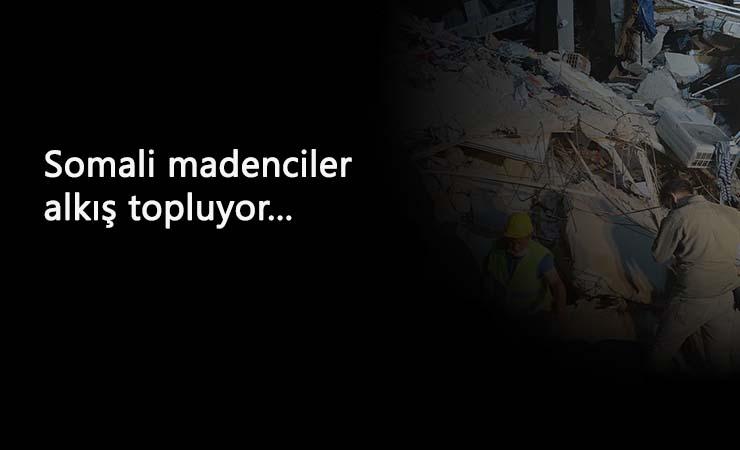 İşte işçi kahramanlığı: Somalı madenciler İzmir'e koştu