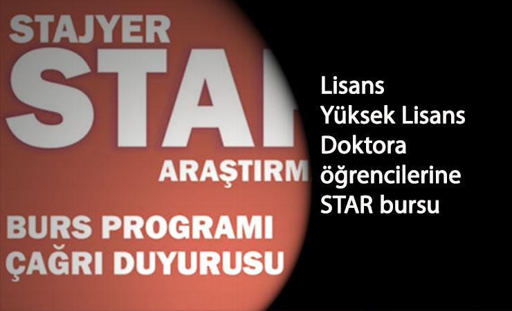 Stajyer burs programı ne zaman? STAR burs başvurusu ne zaman alınacak?