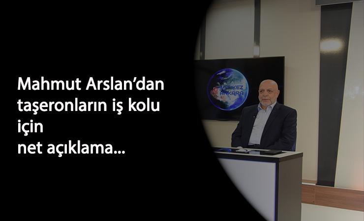 """Mahmut Arslan'dan 1 Kasım açıklaması: """"Süreç farklı noktaya gidiyor"""""""
