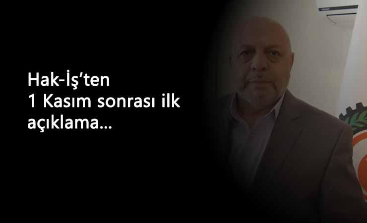 """Mahmut Arslan: """"1 Kasım'dan sonraki süreçte mücadelemiz sürecek"""""""