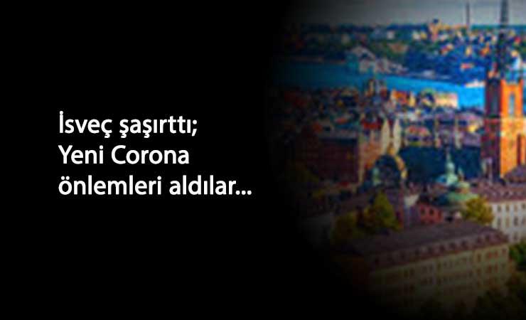 İsveç'te yeni Korona tedbirleri