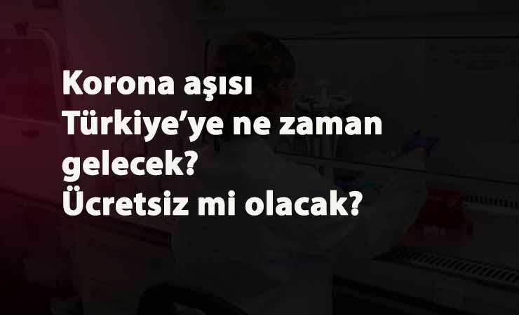 ABD'de Korona aşısı başlıyor: Türkiye için ne zaman olacak? Ücretsiz mi olacak?